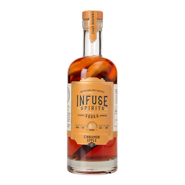 Infuse Vodka Cinnamon Apple - Available at Wooden Cork