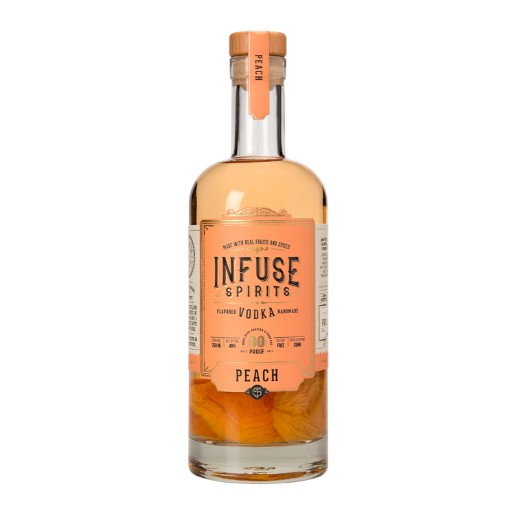 Infuse Vodka Peach - Available at Wooden Cork