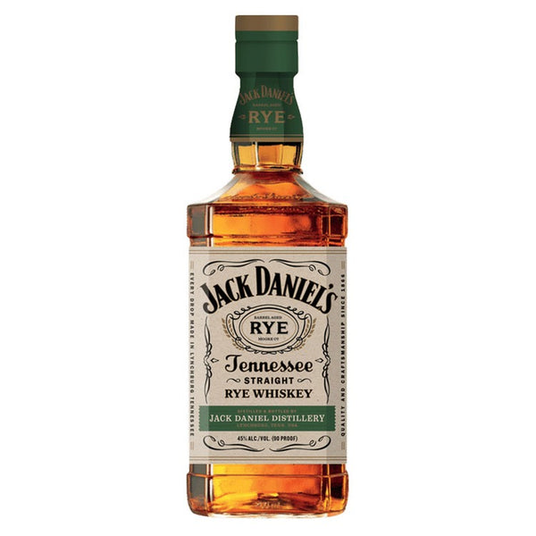 Jack Daniel's Straight Rye - Available at Wooden Cork