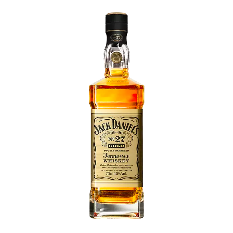 Jack Daniel's No. 27 Gold Double Barreled Whiskey - Available at Wooden Cork