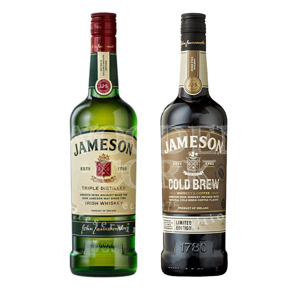 Jameson Irish Whiskey & Cold Brew Bundle - Available at Wooden Cork