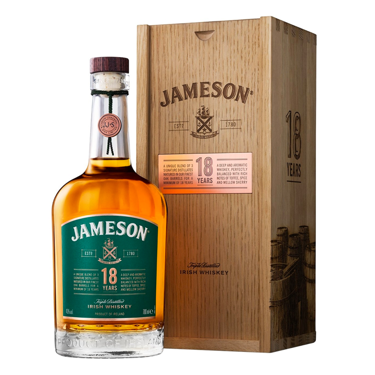 Jameson 18 Year - Available at Wooden Cork