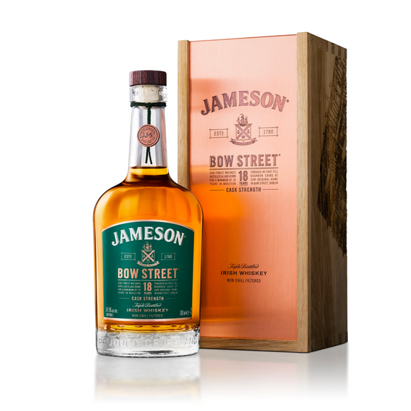 Jameson Bow Street Cask Strength 18 Year Irish Whiskey