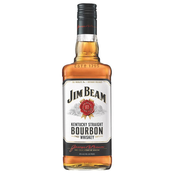 Jim Beam Bourbon Whiskey - Available at Wooden Cork