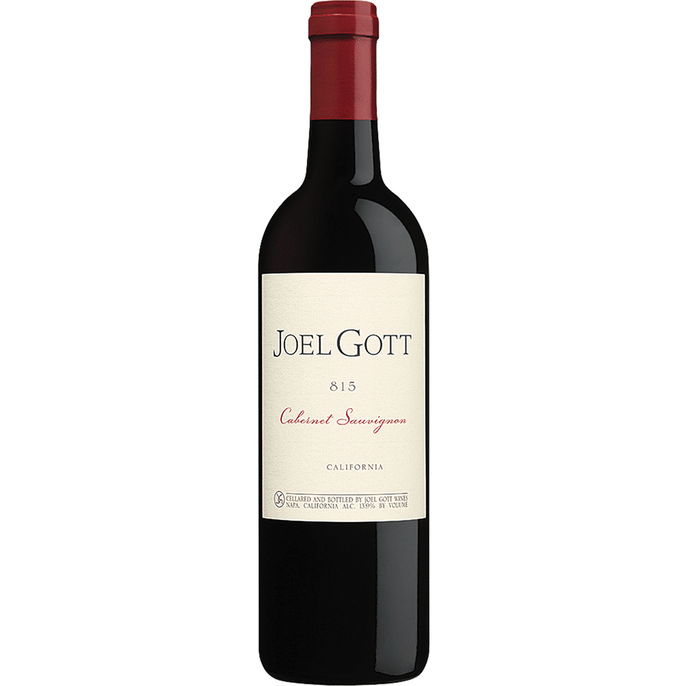 Joel Gott Napa Valley Cabernet Sauvignon - Available at Wooden Cork