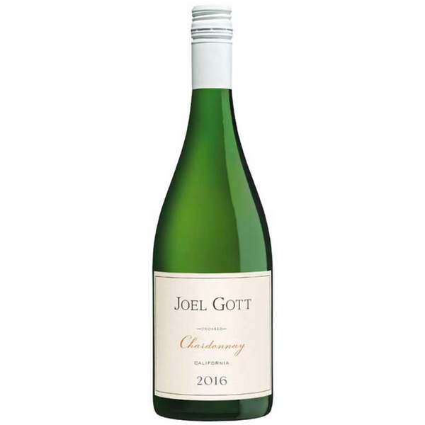 Joel Gott Unoaked Chardonnay - Available at Wooden Cork