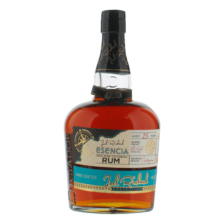 Joel Richard Esencia 25 Year Columbian Rum - Available at Wooden Cork