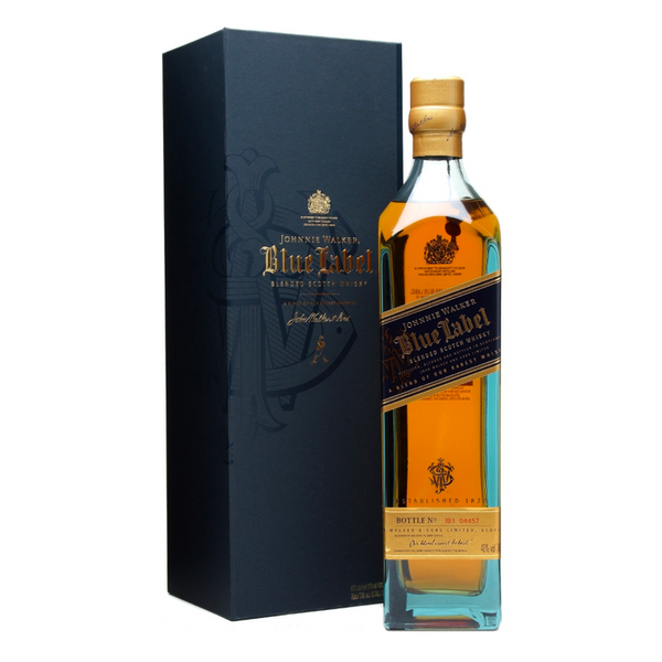 Johnnie Walker Blue Label Scotch - Available at Wooden Cork