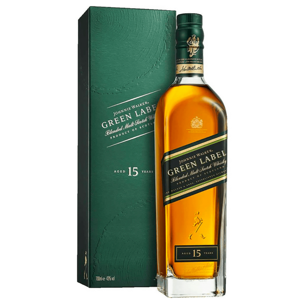 Johnnie Walker Green Label - Available at Wooden Cork
