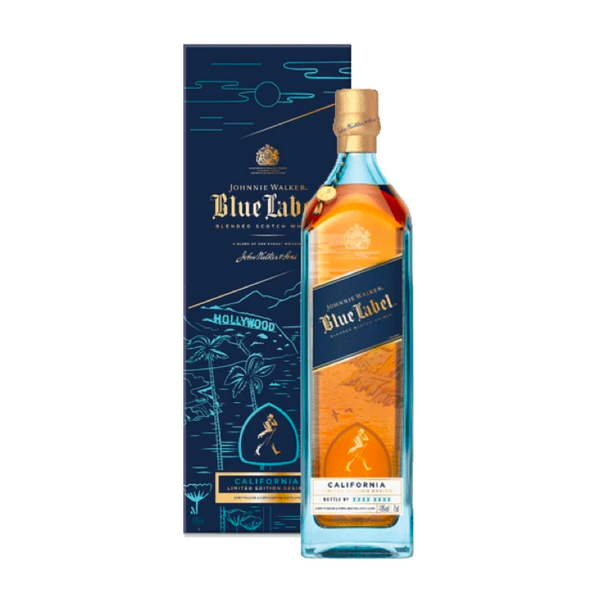 Johnnie Walker Blue Label California Edition - Available at Wooden Cork