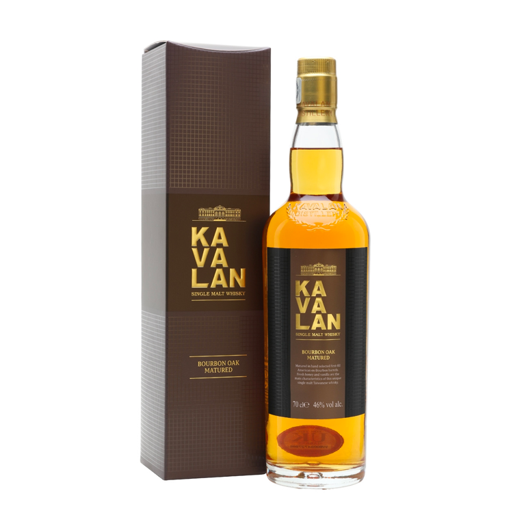 Kavalan Ex-Bourbon Oak Whiskey - Available at Wooden Cork