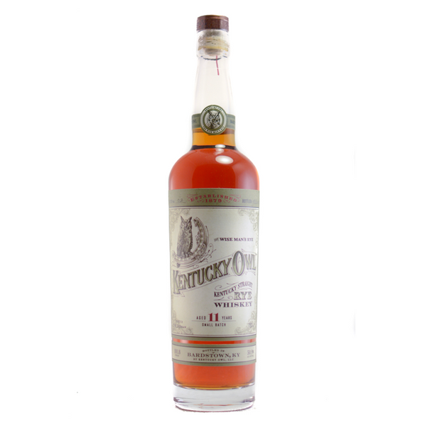 Kentucky Owl 11 Year Kentucky Straight Rye Whiskey - Available at Wooden Cork
