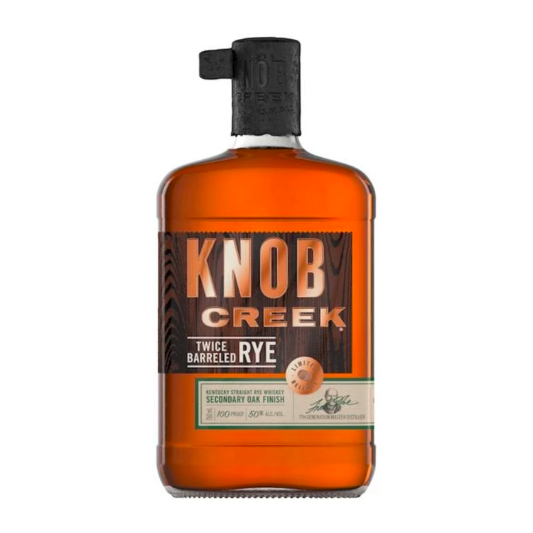 Knob Creek Twice Barrelled Rye - Available at Wooden Cork