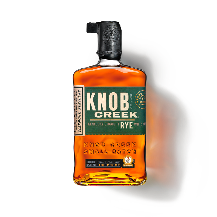 Knob Creek Rye Whiskey - Available at Wooden Cork