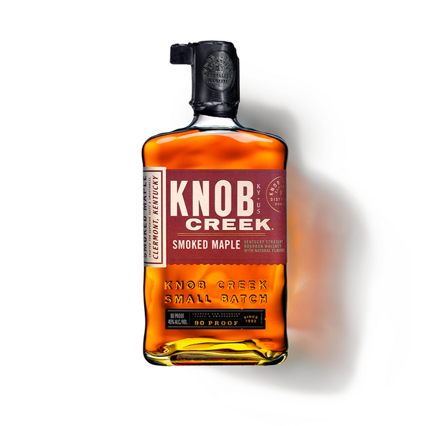 Knob Creek Smoked Maple Bourbon - Available at Wooden Cork