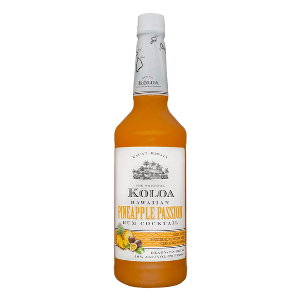 Koloa Hawaiian Pineapple Passion Rum Cocktail - Available at Wooden Cork