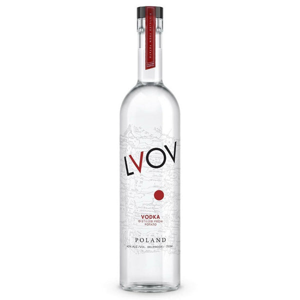 Lvov Vodka 1.75L - Available at Wooden Cork