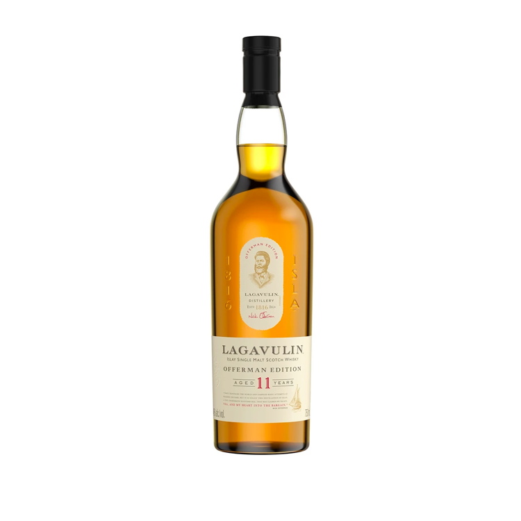 Lagavulin 11 Year Offerman Edition - Available at Wooden Cork