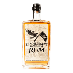 Leadslingers Black Flag Rum - Available at Wooden Cork