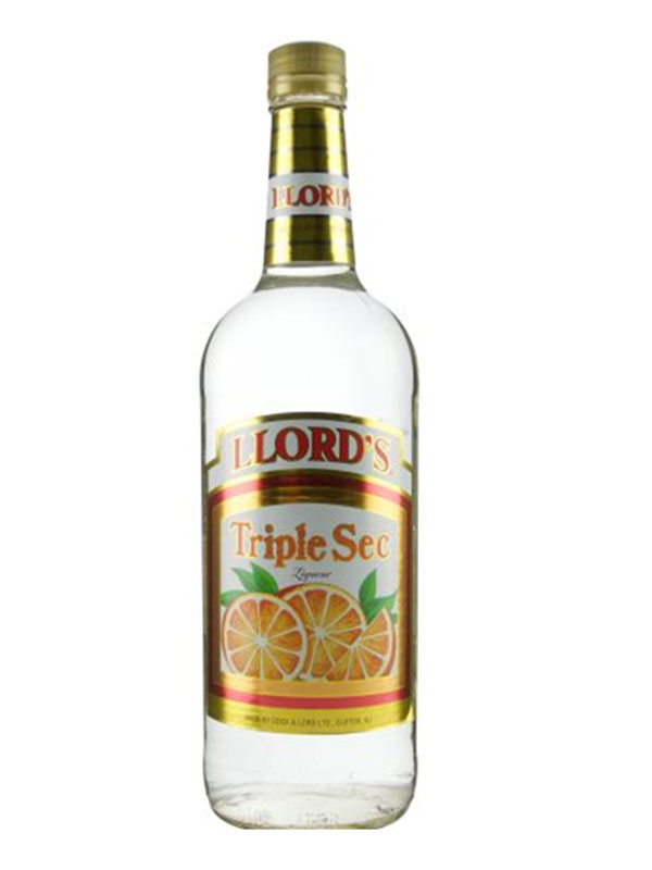 Llord's Triple Sec - Available at Wooden Cork