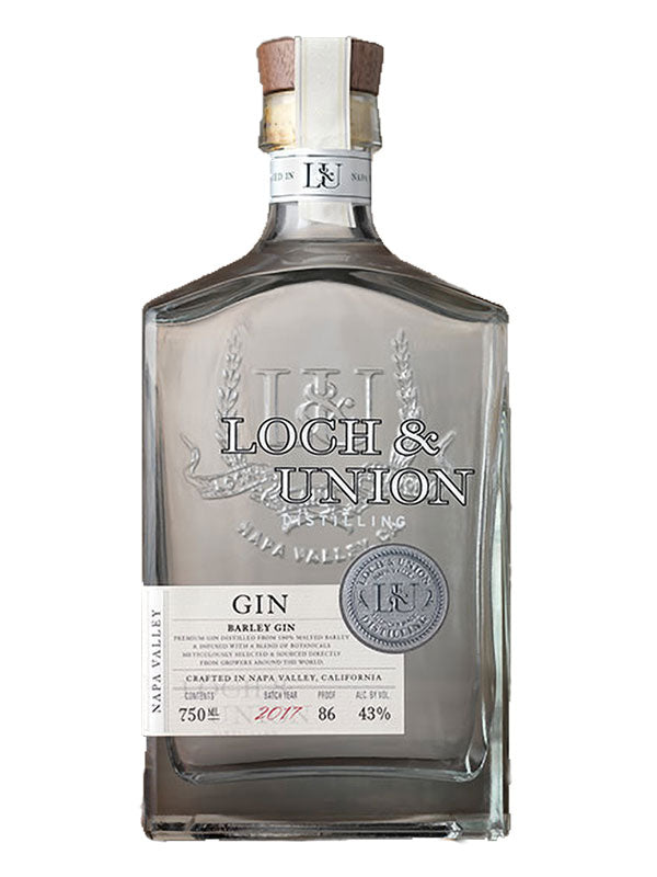 Loch & Union Barley Gin - Available at Wooden Cork