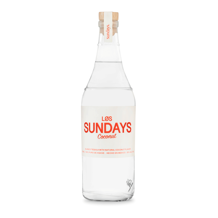 Los Sundays Coconut Blanco Tequila - Available at Wooden Cork