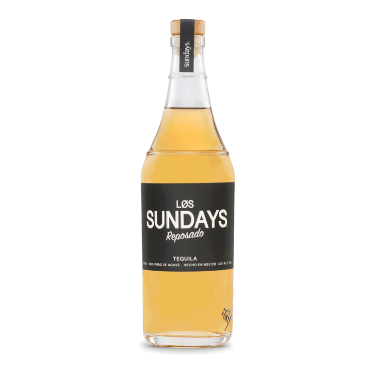 Los Sundays Reposado Tequila - Available at Wooden Cork