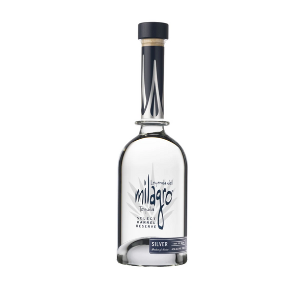 Milagro Select Barrel Reserve Silver Tequila - Available at Wooden Cork