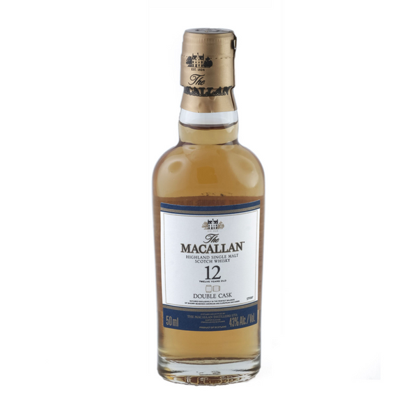 Macallan 12 Year Double Cask Scotch Shot 50ml 4 Pack - Available at Wooden Cork