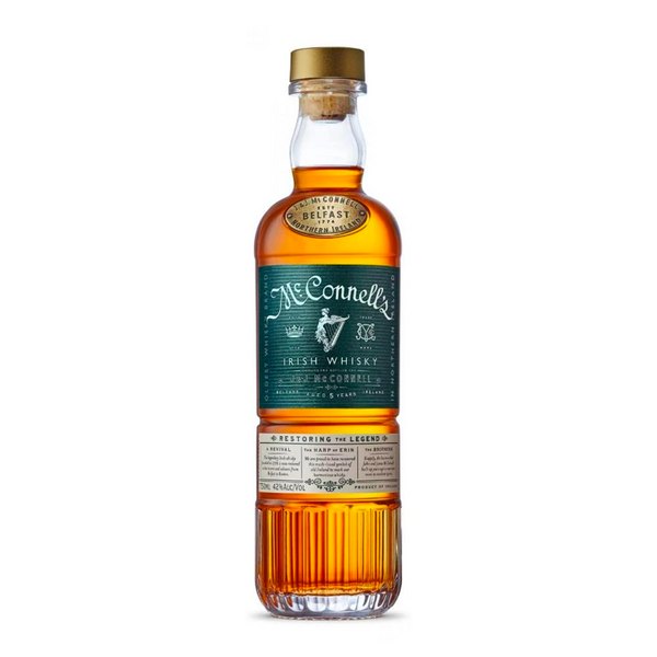 McConnell's Irish Whisky - Available at Wooden Cork