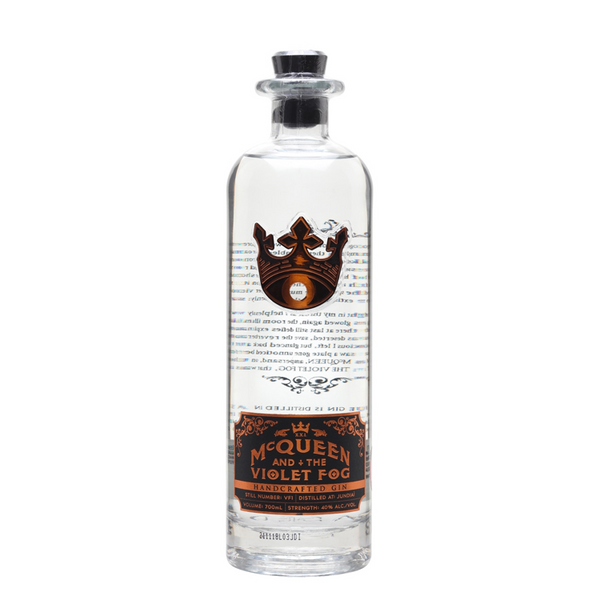 McQueen And The Violet Fog Gin - Available at Wooden Cork