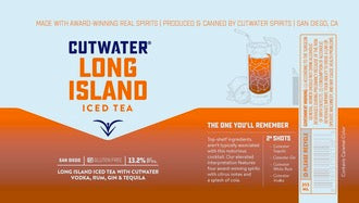 Cutwater Spirits Long Island Iced Tea - Available at Wooden Cork