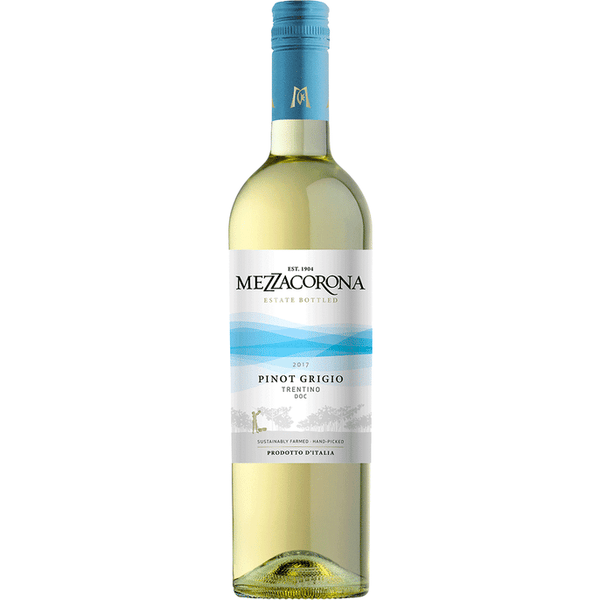 MezzaCorona Pinot Grigio - Available at Wooden Cork