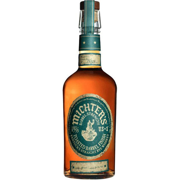 Michter's US-1 Toasted Barrel Finish Rye Whiskey - Available at Wooden Cork