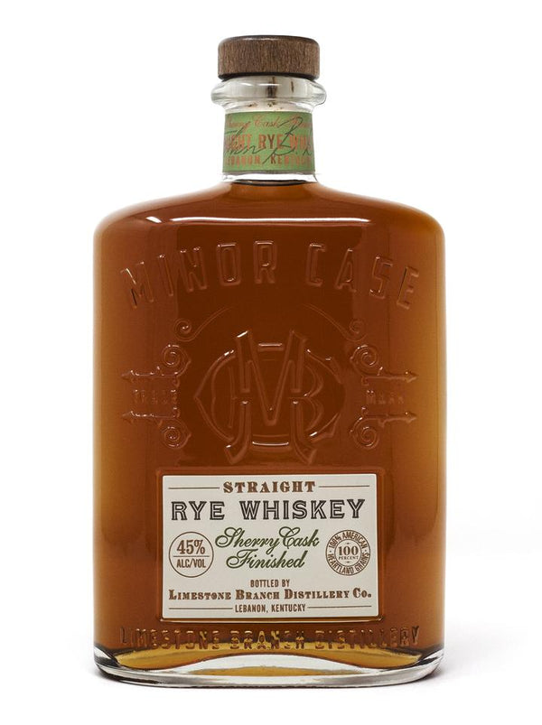 Minor Case Straight Rye Whiskey Sherry Cask Finished - Available at Wooden Cork