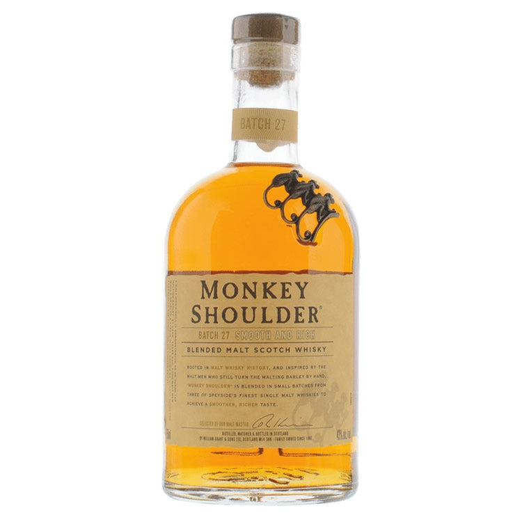 Monkey Shoulder Scotch Whisky - Available at Wooden Cork