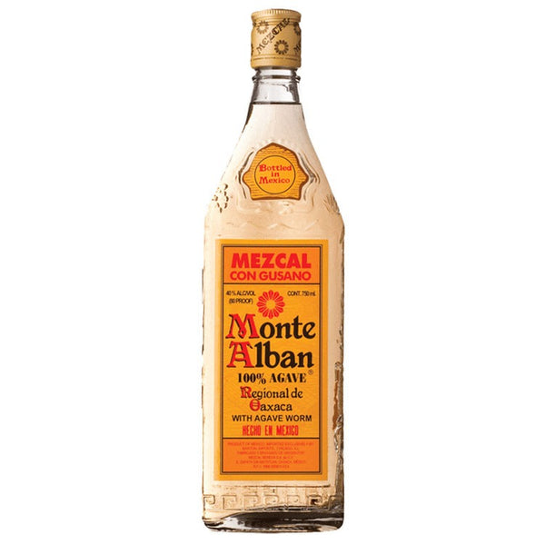 Monte Alban Mezcal Tequila - Available at Wooden Cork
