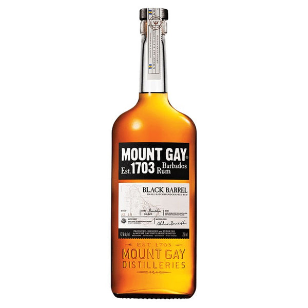 Mount Gay Black Barrel Rum - Available at Wooden Cork