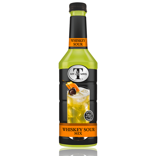 Mr & Mrs T Whiskey Sour Mix - Available at Wooden Cork