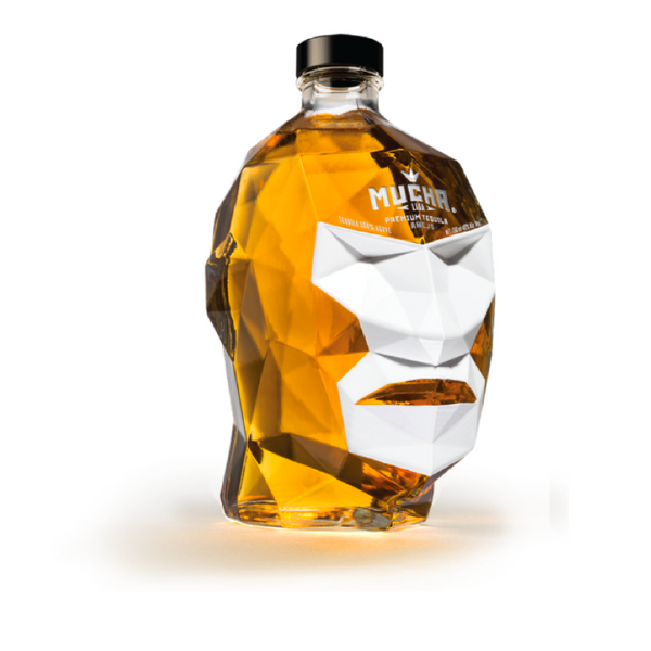 Mucha Liga Invicto Anejo Tequila - Available at Wooden Cork