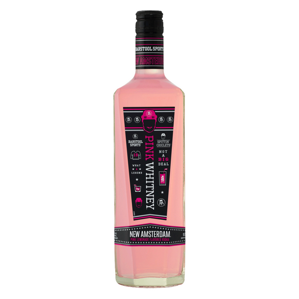 New Amsterdam Pink Whitney Vodka - Available at Wooden Cork