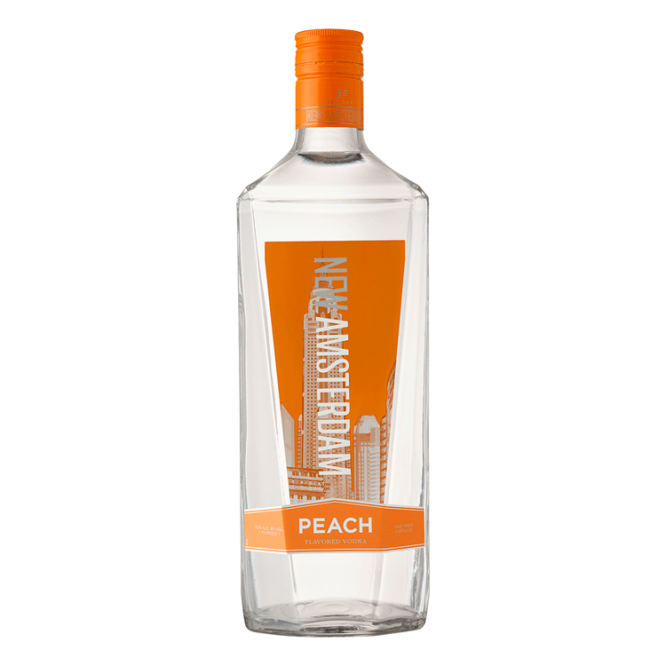 New Amsterdam Peach Vodka 1.75L - Available at Wooden Cork