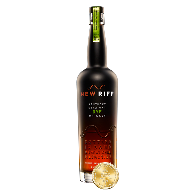 New Riff Bottled-In-Bond Kentucky Straight Rye Whiskey - Available at Wooden Cork