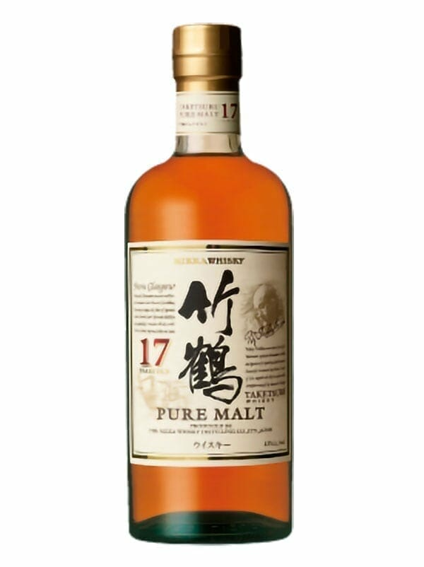Nikka Taketsuru Pure Malt 17 Years Old Whiskey 750ml - Available at Wooden Cork