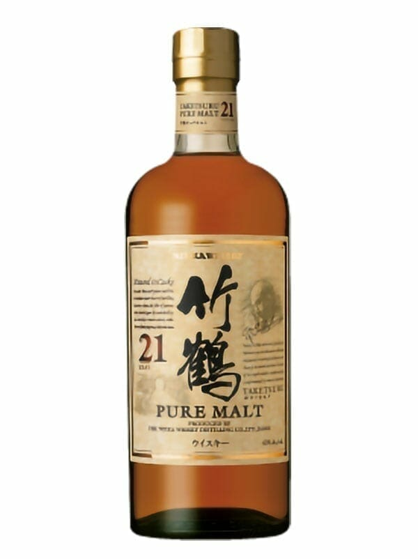 Nikka Taketsuru Pure Malt 21 Years Old Whiskey 750ml - Available at Wooden Cork