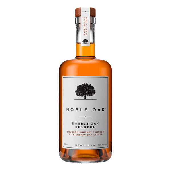 Noble Oak Double Oak Bourbon - Available at Wooden Cork