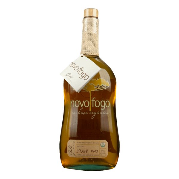 Novo Fogo Barrel Aged Gold Cachaca - Available at Wooden Cork