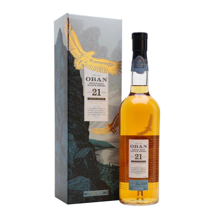 Oban 21 Year Old Limited Release - Available at Wooden Cork