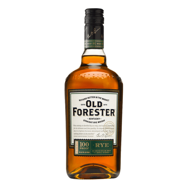 Old Forester Rye Whisky 100pf - Available at Wooden Cork
