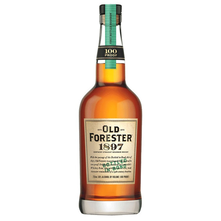 Old Forester 1897 Bottled In Bond Whisky - Available at Wooden Cork